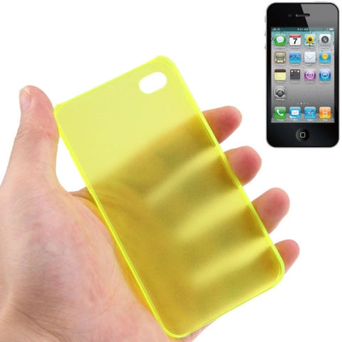 Buy Online  0.5mm Ultra Thin Scrub Plastic Cover for iPhone 4 & 4S (Flurescent Green) Apple Cases - MEGA Discount Online Store Ghana