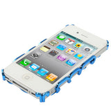 Buy Online  Hollow Process Plastic Protective Cover for iPhone 4 & 4S (Dark BLue) Apple Cases - MEGA Discount Online Store Ghana