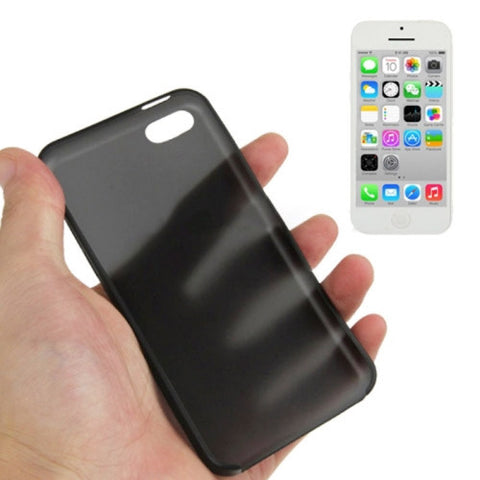 Buy Online  0.3mm Ultra Thin Polycarbonate Materials PC Protection Cover for iPhone 5 C  (Black) Apple Cases - MEGA Discount Online Store Ghana