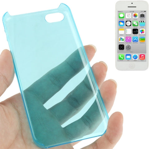 Buy Online  Smooth Surface Translucent Plastic Cover for iPhone 5 C (Blue) Apple Cases - MEGA Discount Online Store Ghana