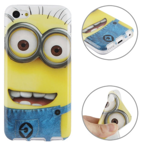 Buy Online  Minions Pattern TPU Cover for iPhone 5 C Apple Cases - MEGA Discount Online Store Ghana
