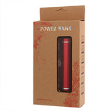 Buy Online  2600mAh Smart Mobile Power Bank External Battery with Five Kinds of Connectors(Red) Power Banks & Solar - MEGA Discount Online Store Ghana