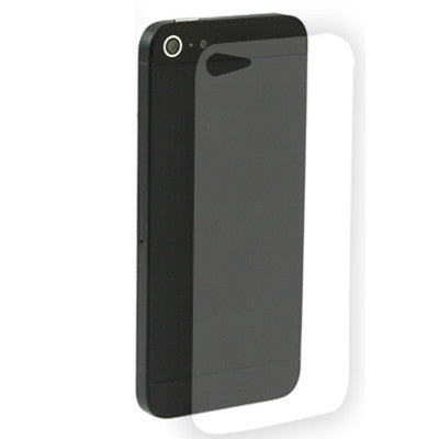 quality design 8f755 a686b Back Cover Clear LCD Protector for iPhone 5