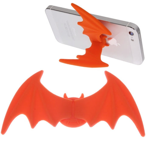 Buy Online  Bat Wings Style Silicon Stand for iPhone 5 & 5C & 5S / iPhone 4 & 4S (Orange) Holders - MEGA Discount Online Store Ghana