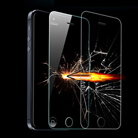 Buy Online  2.5D Explosion-proof Tempered Glass Film for iPhone 5 & 5S, with Mobile Phone Holder iPhone Holders - MEGA Discount Online Store Ghana
