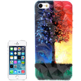 Buy Online  3D Diamond Style Multicolour Tree Pattern Plastic Cover for iPhone 5 & 5S Apple Cases - MEGA Discount Online Store Ghana