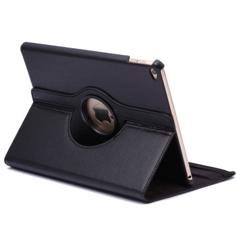 Buy Online  360 Degree Rotation Litchi Texture Flip Leather Cover with 2 Gears Holder for iPad Air 2(Black) Apple Cases - MEGA Discount Online Store Ghana