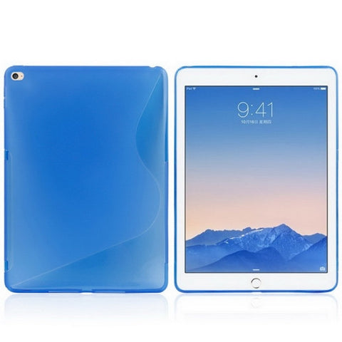 Buy Online  S Line Anti-slip Frosted TPU Protective Cover for iPad Air 2(Blue) Apple Cases - MEGA Discount Online Store Ghana