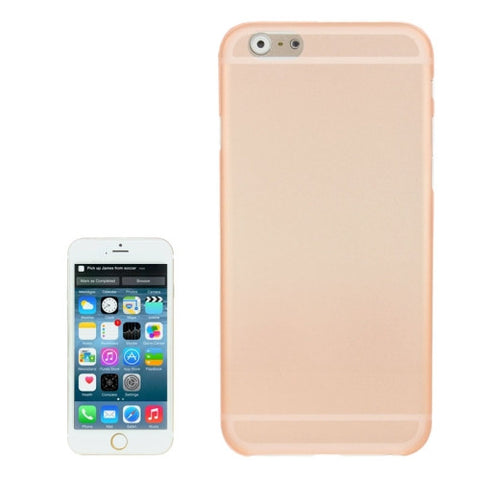 Buy Online  0.3mm Ultra-thin Polycarbonate Material PC Protection Cover for iPhone 6, Transparent Version / Matte Edition(Orange) Apple Cases - MEGA Discount Online Store Ghana
