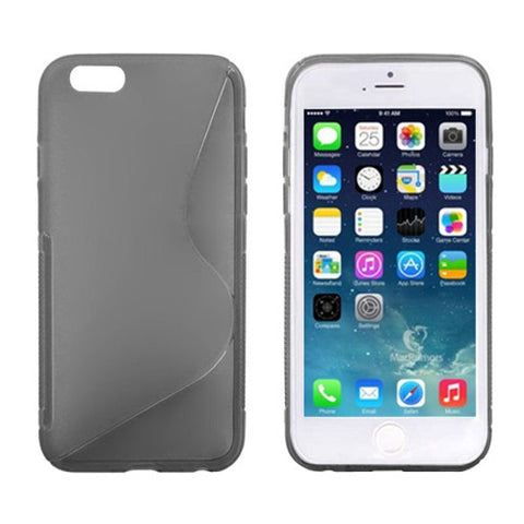 S Line Anti-skid Frosted TPU Protective Cover for iPhone 6 (Grey) Apple Cases - MEGA Discount Online Store Ghana