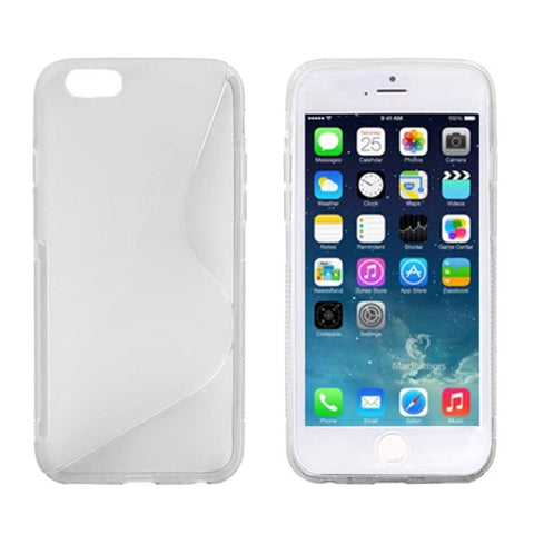 S Line Anti-skid Frosted TPU Protective Cover for iPhone 6 (Transparent) Apple Cases - MEGA Discount Online Store Ghana