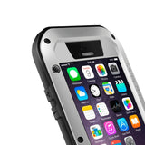Buy Online  LOVE MEI Metal Ultra-thin Waterproof Dustproof Shockproof Powerful Protective Cover for iPhone 6(Grey) Apple Cases - MEGA Discount Online Store Ghana