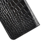Buy Online  Crocodile Texture Horizontal Flip Genuine Leather Case with Card Slots&Holder for iPhone 6 & 6S(Black) Apple Cases - MEGA Discount Online Store Ghana