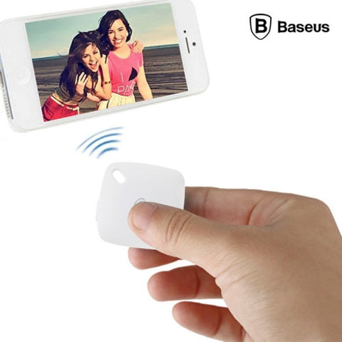Buy Online  Baseus Portable Bluetooth Remote Shutter(White) Selfie Tools - MEGA Discount Online Store Ghana