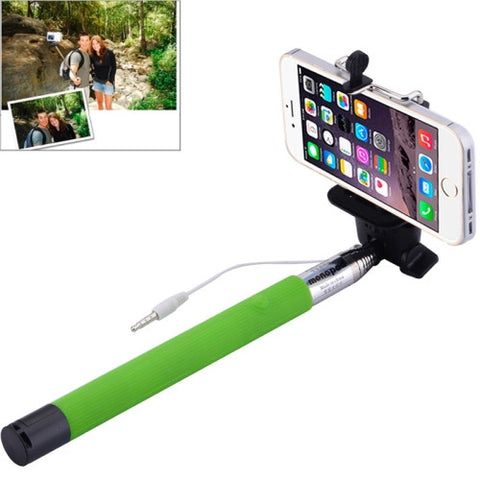 Buy Online  Portable Selfie Stick Monopod Extendable Handheld Holder, Max Length: 101.4cm(Green) Selfie Tools - MEGA Discount Online Store Ghana