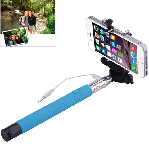 Buy Online  Portable Selfie Stick Monopod Extendable Handheld Holder, Max Length: 101.4cm(Blue) Selfie Tools - MEGA Discount Online Store Ghana