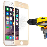 Buy Online  0.3mm Titanium Alloy Arc Edge Full Screen Explosion-proof Tempered Glass Film for iPhone 6(Gold) Screen Protectors - MEGA Discount Online Store Ghana