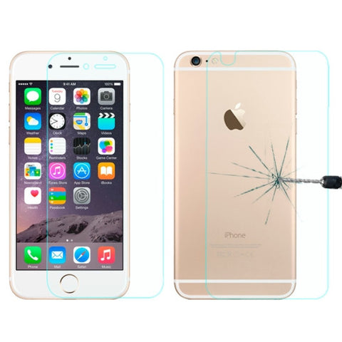 Buy Online  LOPURS 0.26mm Explosion-proof Front and Back Screen Protector Tempered Glass Film for iPhone 6 Screen Protectors - MEGA Discount Online Store Ghana