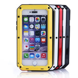 Buy Online  Waterproof Dustproof Shockproof Metal Armour Protective Cover for iPhone 6(Red) Apple Cases - MEGA Discount Online Store Ghana