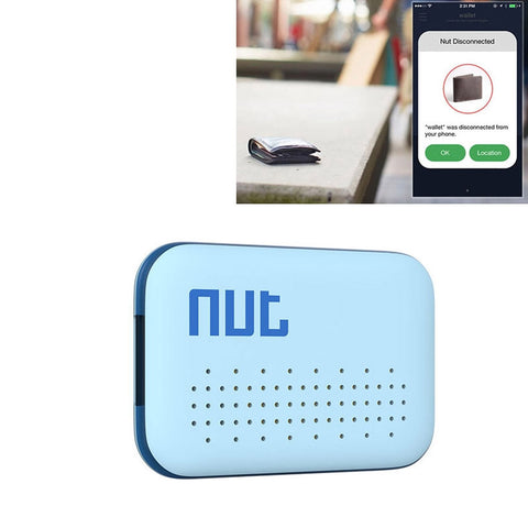 Buy Online  Nut Mini Intelligent Bluetooth 4.0 Anti-lost Tracking Tag Alarm Patch for Android / iPhone Devices(Blue) GPS & Tracking - MEGA Discount Online Store Ghana