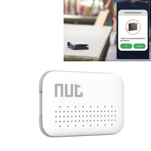 Buy Online  Nut Mini Intelligent Bluetooth 4.0 Anti-lost Tracking Tag Alarm Patch for Android / iPhone Devices(White) GPS & Tracking - MEGA Discount Online Store Ghana