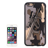 Buy Online  3D Steyr AUG A1 Gun Pattern PU Paste Skin TPU Protective Case for iPhone 6 & 6s(Grey) Apple Cases - MEGA Discount Online Store Ghana