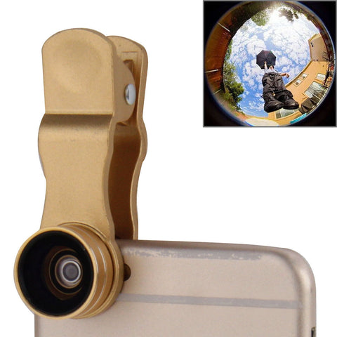 Buy Online  2 in 1 Universal 15X Marco Lens + 0.63X Wide Lens with Clip for (Gold) Lens - MEGA Discount Online Store Ghana