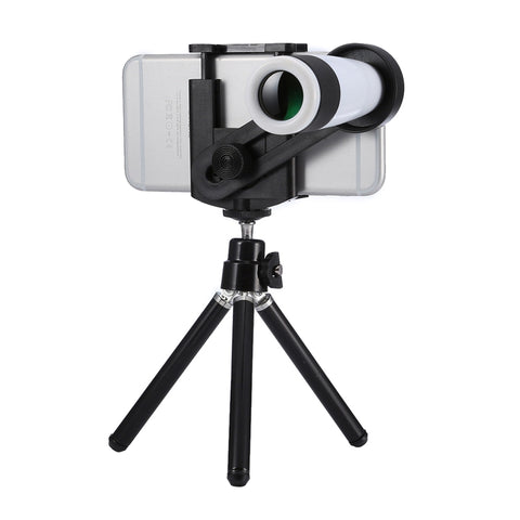 Buy Online  Universal 12x Zoom Optical Telescope Telephoto Camera Lens Kit, Suitable for Width as 5.5cm-8.5cm Mobile Phone Lens - MEGA Discount Online Store Ghana