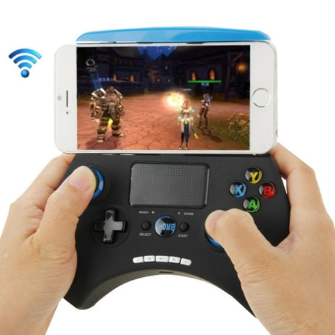 Buy Online  Ipega PG-9028 Multi-media Bluetooth Touch Gamepad for iPhone / iPad / iPod / Samsung / HTC / MOTO / Android TV Box / Android TV / PC(Blue) Toys - MEGA Discount Online Store Ghana