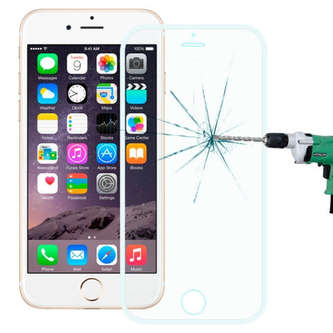 Buy Online  0.3mm Explosion-proof Full Screen Tempered Glass Film for iPhone 6(White) Screen Protectors - MEGA Discount Online Store Ghana