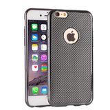 Buy Online  Lattice Texture Electroplating TPU Protective Case for iPhone 6 & 6s(Black) Apple Cases - MEGA Discount Online Store Ghana
