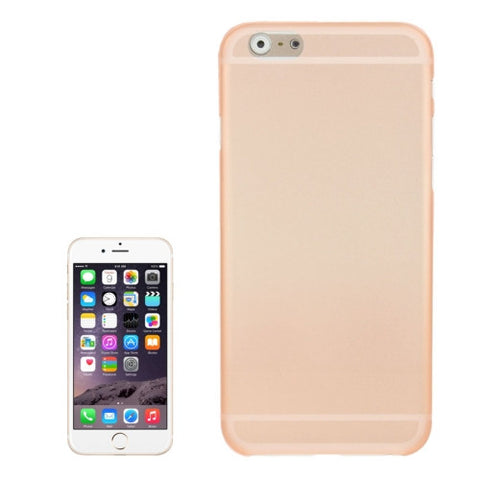 Buy Online  0.3mm Ultra-thin Polycarbonate Material PC Protection cover for iPhone 6 Plus, Transparent Version / Matte Edition(Orange) Apple Cases - MEGA Discount Online Store Ghana