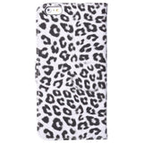 Buy Online  Leopard Print Pattern Horizontal Flip Leather Cover with Card Slot and Holder for iPhone 6 Plus(White) Apple Cases - MEGA Discount Online Store Ghana