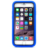 Buy Online  3 in 1 Detachable Shockproof Silicone&Plastic + Screen Protector Hard Cover with Holder for iPhone 6 Plus(Dark Blue) Apple Cases - MEGA Discount Online Store Ghana
