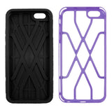 Buy Online  Spider-man Series Plastic + TPU Combination Cover for iPhone 6 Plus(Purple) Apple Cases - MEGA Discount Online Store Ghana