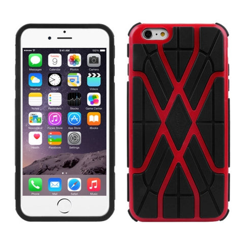 Buy Online  Spider-man Series Plastic + TPU Combination Cover for iPhone 6 Plus(Red) Apple Cases - MEGA Discount Online Store Ghana