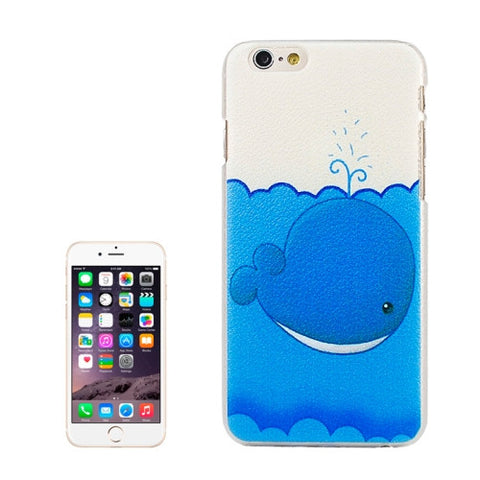 Buy Online  Embossment Style Cartoon Shark Pattern Plastic Cover for iPhone 6 Plus Apple Cases - MEGA Discount Online Store Ghana