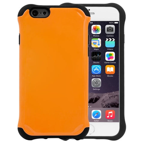 Buy Online  Armor Series Silicone + Plastic Combination Cover for iPhone 6 Plus(Orange) Apple Cases - MEGA Discount Online Store Ghana