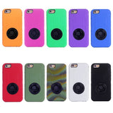 Buy Online  Shockproof Silicone + Hard Plastic Combination Cover with Ring Holder for iPhone 6 Plus (Camouflage) Apple Cases - MEGA Discount Online Store Ghana
