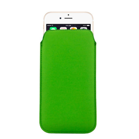Buy Online  Leather Cover with Lanyard Hole for iPhone 6 Plus, Size: 16.8cm x 9.3cm x 0.2cm(Green) Apple Cases - MEGA Discount Online Store Ghana