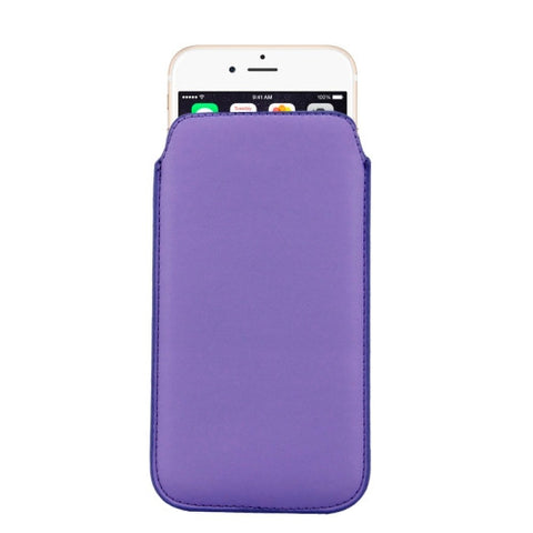 Buy Online  Leather Cover with Lanyard Hole for iPhone 6 Plus, Size: 16.8cm x 9.3cm x 0.2cm(Purple) Apple Cases - MEGA Discount Online Store Ghana