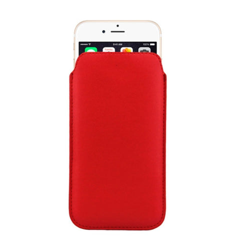 Buy Online  Leather Cover with Lanyard Hole for iPhone 6 Plus, Size: 16.8cm x 9.3cm x 0.2cm(Red) Apple Cases - MEGA Discount Online Store Ghana