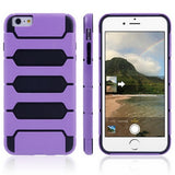 Buy Online  Tank Series PC + TPU Bumper Combination Cover for iPhone 6 Plus(Purple) Apple Cases - MEGA Discount Online Store Ghana