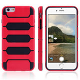 Buy Online  Tank Series PC + TPU Bumper Combination Cover for iPhone 6 Plus(Red) Apple Cases - MEGA Discount Online Store Ghana