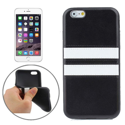 Buy Online  Double Colored TPU Paste Skin Protective Cover for iPhone 6 Plus(Black) Apple Cases - MEGA Discount Online Store Ghana