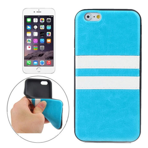 Buy Online  Double Colored TPU Paste Skin Protective Cover for iPhone 6 Plus(Blue) Apple Cases - MEGA Discount Online Store Ghana