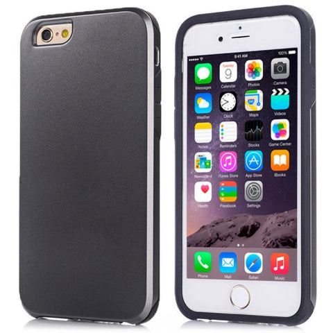 Buy Online  Ultra-thin Shockproof Dustproof Surface Screen Anti-scratch Combination Cover for iPhone 6 Plus(Black) Apple Cases - MEGA Discount Online Store Ghana