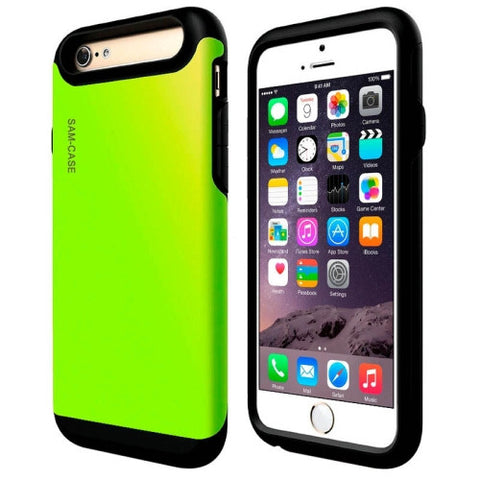 PC + TPU Combination Cover for iPhone 6 Plus(Green) Apple Cases - MEGA Discount Online Store Ghana