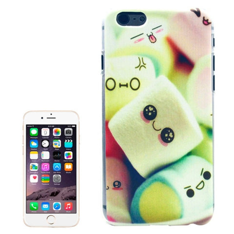 Buy Online  Dessert Pattern Transparent Frame Colored Drawing Plastic Cover for iPhone 6 Plus Apple Cases - MEGA Discount Online Store Ghana