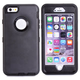 Buy Online  3 in 1 Hybrid Silicon & Plastic Protective Cover for iPhone 6 Plus(Black) Apple Cases - MEGA Discount Online Store Ghana